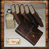 Канцелярские товары ручной работы. Ярмарка Мастеров - ручная работа Блокнот в старинном стиле. Handmade.