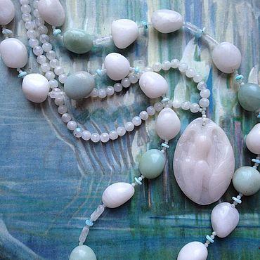 Decorations handmade. Livemaster - original item White angel. Necklace.. Handmade.