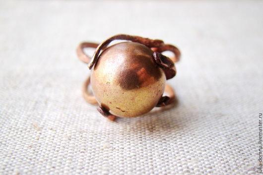 Кольца ручной работы. Ярмарка Мастеров - ручная работа. Купить Кольцо ,,Something else,,. Handmade. Медное кольцо, экстравагантное кольцо