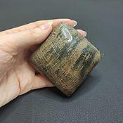 handmade. Livemaster - original item Pendant large water Buffalo horn rhombus 82h82mm. Handmade.