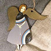Подарки к праздникам ручной работы. Ярмарка Мастеров - ручная работа Ангел с чётками. Handmade.