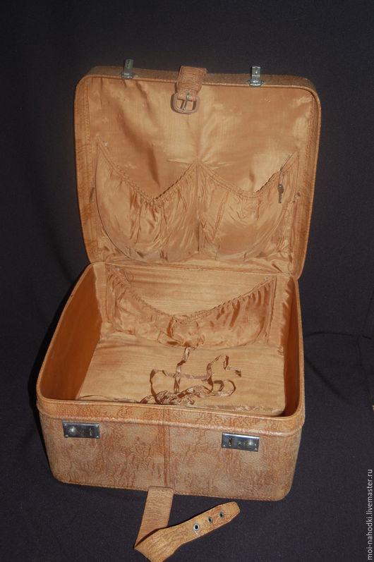 Винтажные сумки и кошельки. Ярмарка Мастеров - ручная работа. Купить -20% Кожаный винтажный чемоданчик. Handmade. Винтажный чемодан