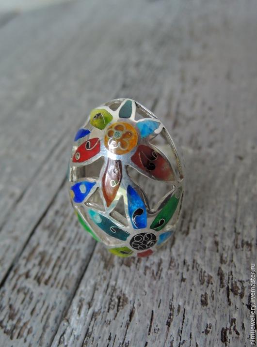 """Кольца ручной работы. Ярмарка Мастеров - ручная работа. Купить Кольцо """"Маргаритки"""". Handmade. Подарок, цветы, маргаритки"""