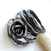 Набор колец ручной работы. Ярмарка Мастеров - ручная работа Сет колец Роза на камнях. Handmade.