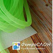 Материалы для творчества ручной работы. Ярмарка Мастеров - ручная работа Ювелирная сетка шнур зеленая. Handmade.