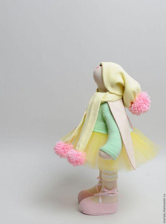 Куклы Тильды ручной работы. Ярмарка Мастеров - ручная работа. Купить Игровая Зая для девочки. Handmade. Мятный, зайка в одежде