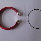 Шнуры ручной работы. Ярмарка Мастеров - ручная работа Проволока для браслетов, для шнуров с отверстием. Handmade.