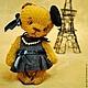 Мишки Тедди ручной работы. Эвва в Париже. Пур-Пур (pur-pur). Ярмарка Мастеров. Авторская игрушка, мишка