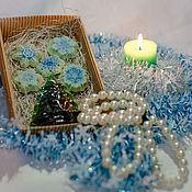 Косметика ручной работы handmade. Livemaster - original item Set of Winter forest. Handmade.