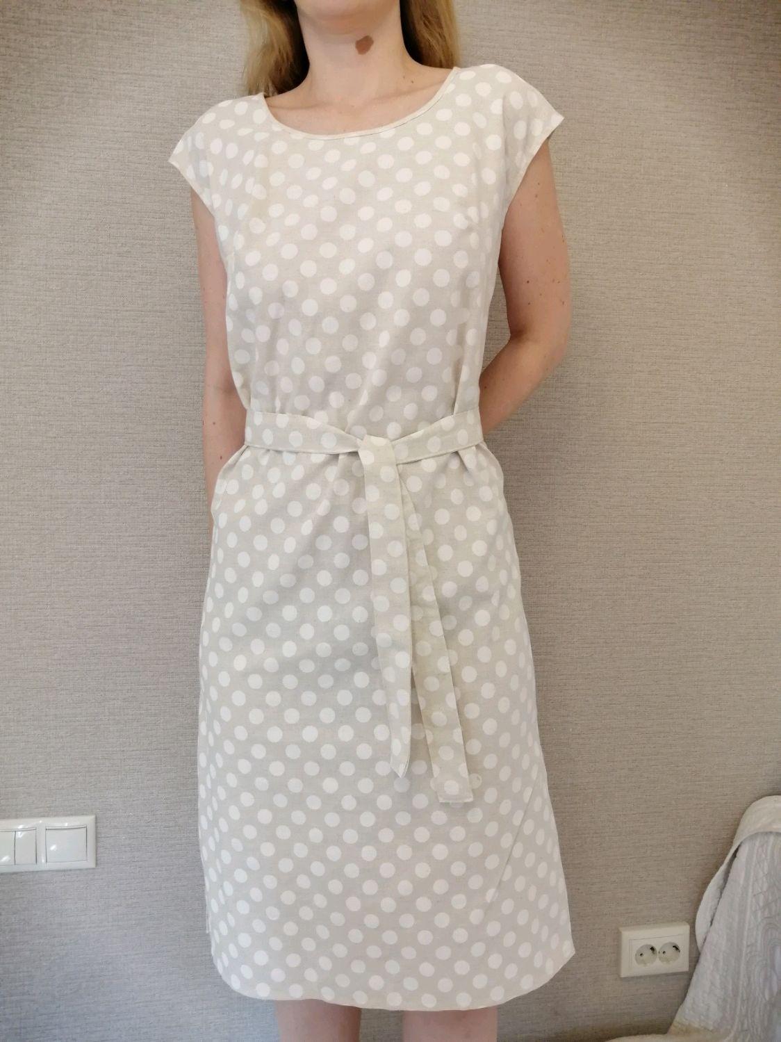 Платье льняное, Платья, Кострома,  Фото №1