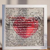 """Подарки к праздникам ручной работы. Ярмарка Мастеров - ручная работа """"Любовь растопит лед"""". Handmade."""