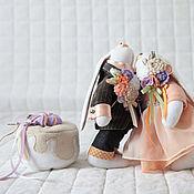 Куклы и игрушки ручной работы. Ярмарка Мастеров - ручная работа Игрушки. Свадебные зайцы.. Handmade.
