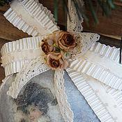 """Для дома и интерьера ручной работы. Ярмарка Мастеров - ручная работа -30%""""Барышня""""-подвес, медальон. Handmade."""