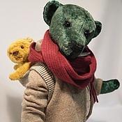 Куклы и игрушки ручной работы. Ярмарка Мастеров - ручная работа Мих и его друг. Handmade.
