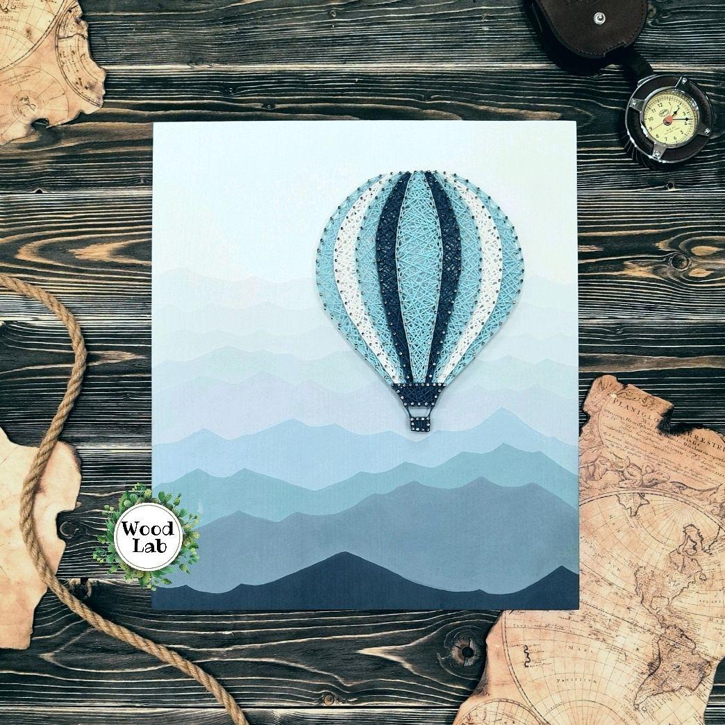 Воздушный шар, Стринг-арт, Мурманск,  Фото №1