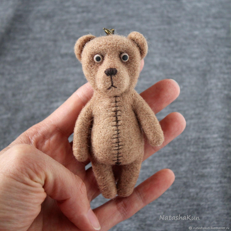 """Брелок """"Медведь ручной"""", оригинальный подарок"""