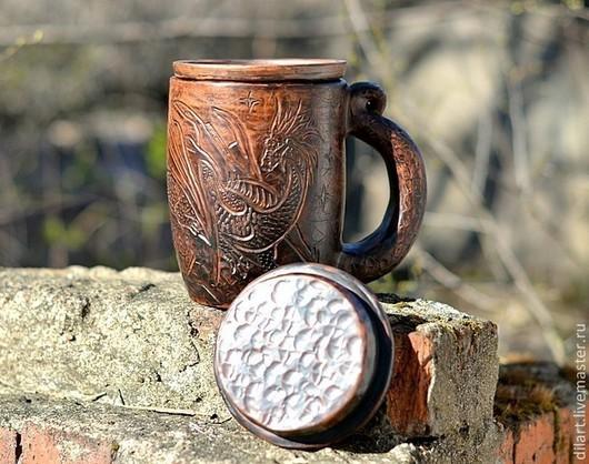 Керамика Dilь_art большая кружка на заказ подарок для мужчины глиняная кружка подарок для мужа подарок для начальника кружка в подарок необычная оригинальная кружка подарок вип дорогой подарок приколь