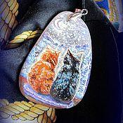 Украшения handmade. Livemaster - original item painting landscape lacquer miniature the painting on the stone. Handmade.