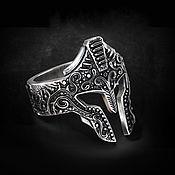 Украшения handmade. Livemaster - original item Signet ring:Greek knight. Handmade.