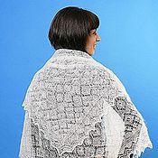 Аксессуары handmade. Livemaster - original item 26 shawl down Orenburg cobweb