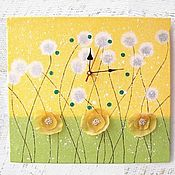 Для дома и интерьера handmade. Livemaster - original item Watch the picture of Summer Dandelions. Handmade.
