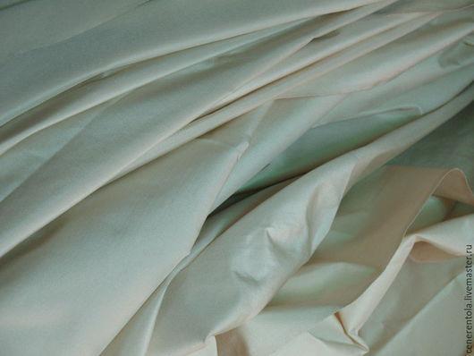 Реставрация. Ярмарка Мастеров - ручная работа. Купить винтажный итальянский шелк. цвет экрю.. Handmade. Бежевый, винтажныи шелк