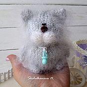 Куклы и игрушки handmade. Livemaster - original item Kitty-baby ( pacifier) - interior toy, pussy.. Handmade.