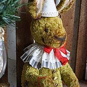Куклы и игрушки ручной работы. Ярмарка Мастеров - ручная работа Заяц плюшевый коллекционный. Handmade.