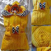 """Работы для детей, ручной работы. Ярмарка Мастеров - ручная работа Комплект одежды на выписку для новорождённого """"Ход конём"""". Handmade."""