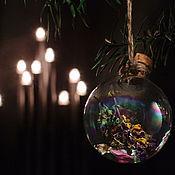 """Подарки к праздникам ручной работы. Ярмарка Мастеров - ручная работа Ёлочный шар """"Чистый"""", украшение ручной работы. Handmade."""