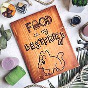 """Панно ручной работы. Ярмарка Мастеров - ручная работа Интерьерная табличка для кухни """"SAIMON"""". Handmade."""