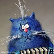 Куклы и игрушки handmade. Livemaster - original item Cat is a musician. Handmade.