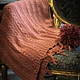 """Текстиль, ковры ручной работы. Ярмарка Мастеров - ручная работа. Купить шерстяной плед """"Нежность"""". Handmade. Кремовый, вязаный плед"""