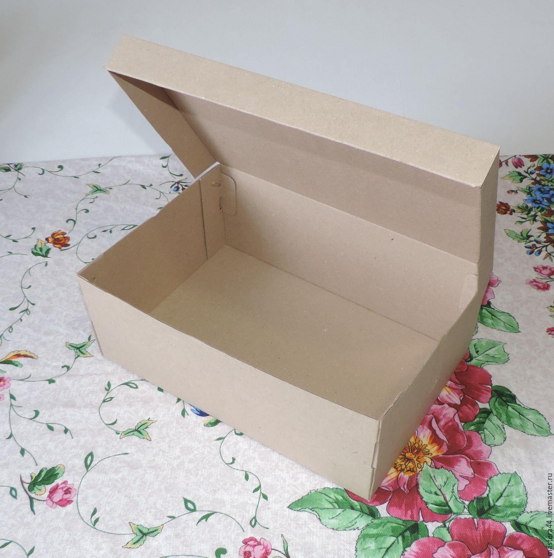 Как сделать картонную коробку фото