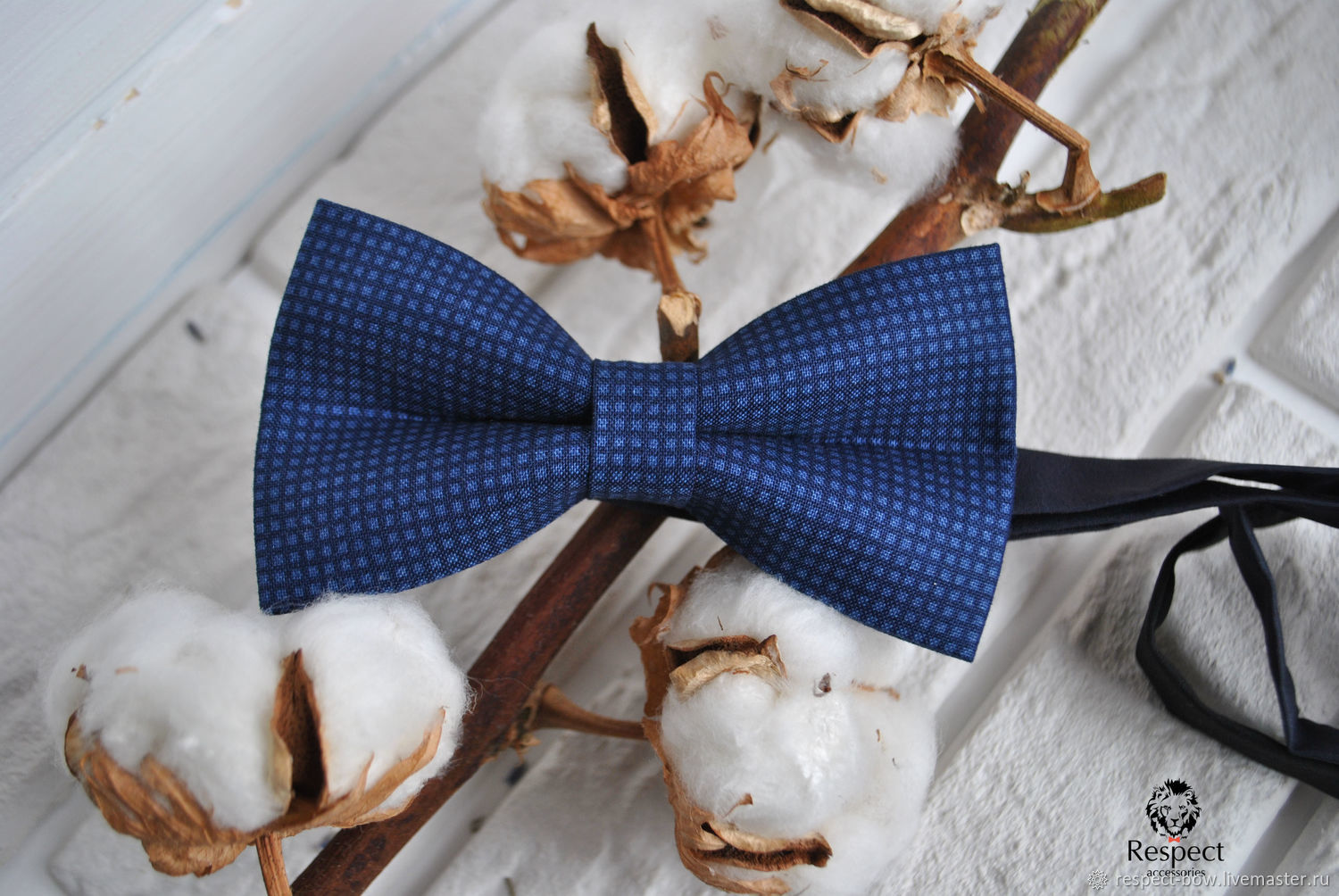 Dark blue tie Twinkle, buy in the Internet shop in Moscow with delivery around the world