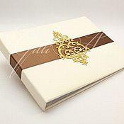 Свадебный салон ручной работы. Ярмарка Мастеров - ручная работа Книга пожеланий Chocolate Queen. Handmade.