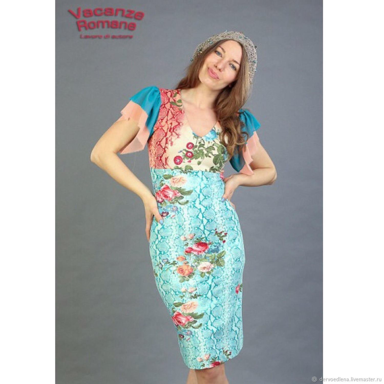 Dresses handmade. Livemaster - handmade. Buy Dress VR-978.Dress, cocktail dress, jersey