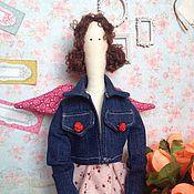 Куклы и игрушки handmade. Livemaster - original item Tilda angel spring garden (sold). Handmade.