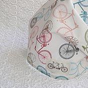 """Работы для детей, ручной работы. Ярмарка Мастеров - ручная работа Бандана на резинке """"Путешествие на велосипеде"""".. Handmade."""