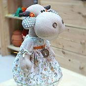 Куклы и игрушки ручной работы. Ярмарка Мастеров - ручная работа Коровки да бычки. Handmade.