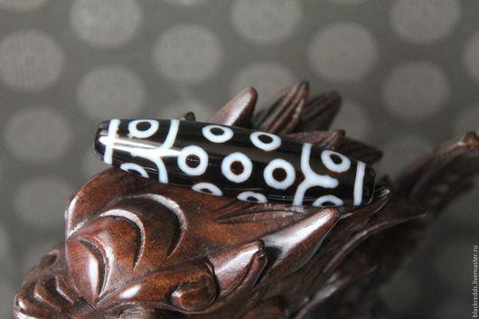 Для украшений ручной работы. Ярмарка Мастеров - ручная работа. Купить Тибетская бусина Дзи 21 глаз (Исполнение желаний!). Handmade.