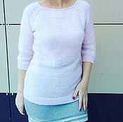"""Одежда ручной работы. Ярмарка Мастеров - ручная работа Джемпер женский """"Розовое облако"""". Handmade."""