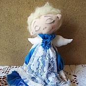 Куклы и игрушки ручной работы. Ярмарка Мастеров - ручная работа Мечтающий ангел. Handmade.