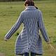 """Верхняя одежда ручной работы. Ярмарка Мастеров - ручная работа. Купить Вязаное пальто """"Gray"""". Handmade. Серый, мягкое"""