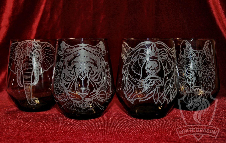 Animals. glasses, Water Glasses, Nizhny Novgorod,  Фото №1