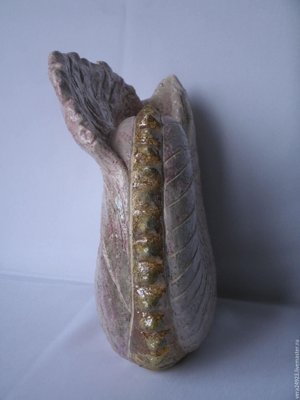 """Скульптура """"Розовая раковина"""""""