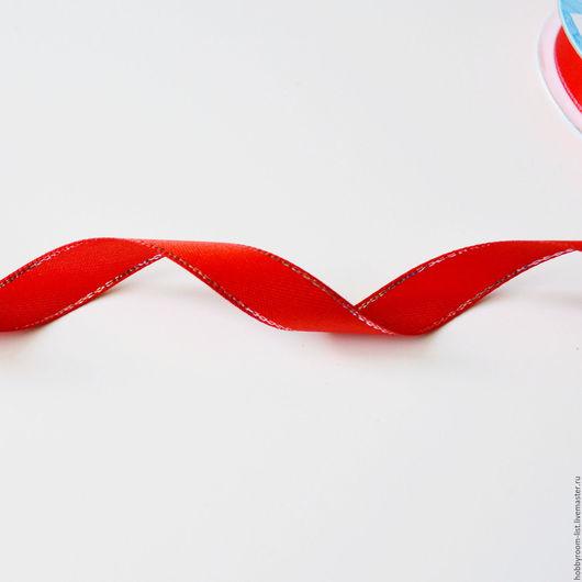 Шитье ручной работы. Ярмарка Мастеров - ручная работа. Купить Лента атласная с нитью 12 мм. Handmade. Комбинированный