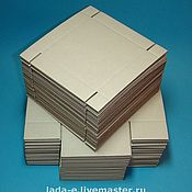Материалы для творчества handmade. Livemaster - original item Box BLANK (price per pack of 50 pieces) color brown. Handmade.