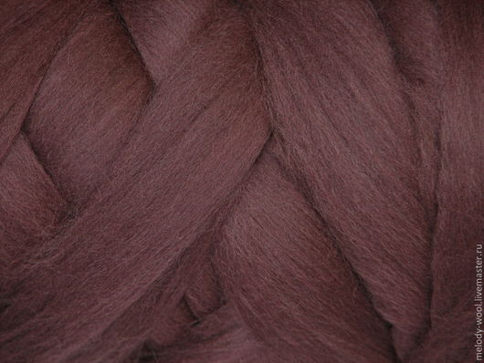 Валяние ручной работы. Ярмарка Мастеров - ручная работа. Купить Шерсть для валяния меринос 18 микрон цвет Фиолетовый (Purple). Handmade.