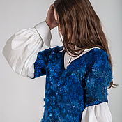 Одежда handmade. Livemaster - original item Felted tunic 2 in 1